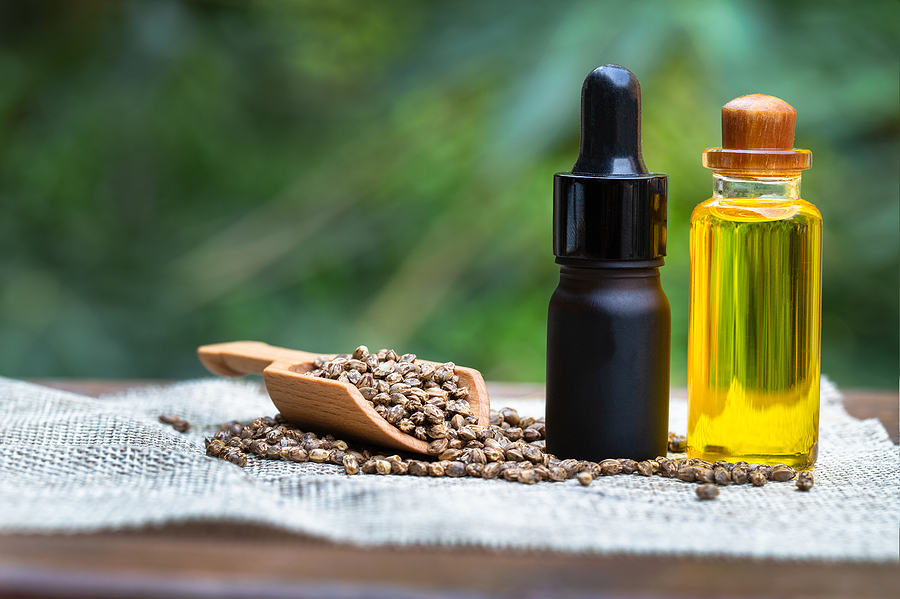Positive effects of CBD oil on pain management